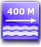 distance from the nearest beach : about 400 m.