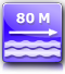 distance from the nearest beach : about 80 m.