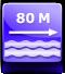 distanza spiaggia : circa 80 metri