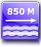 distance from the nearest beach : about 850 m.