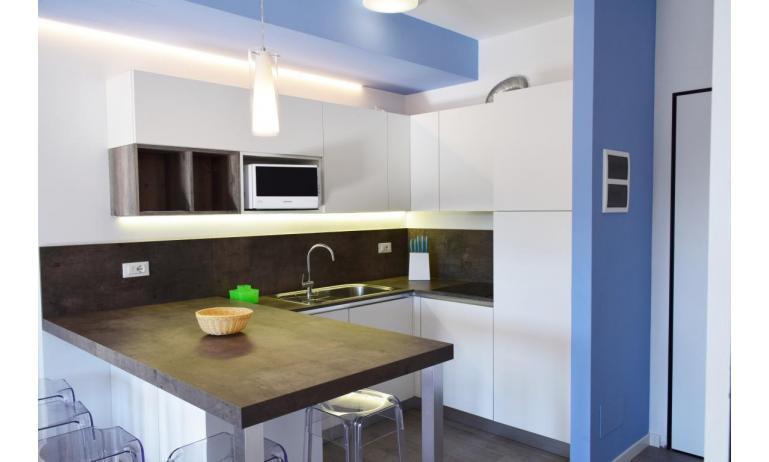 Ferienwohnungen LUNA: B5S - kitchen (example)