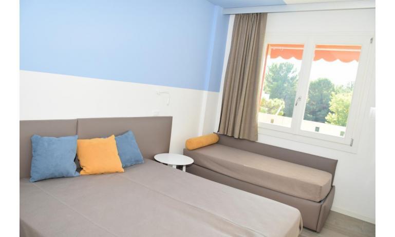 Ferienwohnungen LUNA: B5S - Dreibettzimmer (Beispiel)