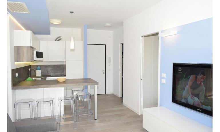 apartmanok LUNA: B5S - konyhasarok (példa)