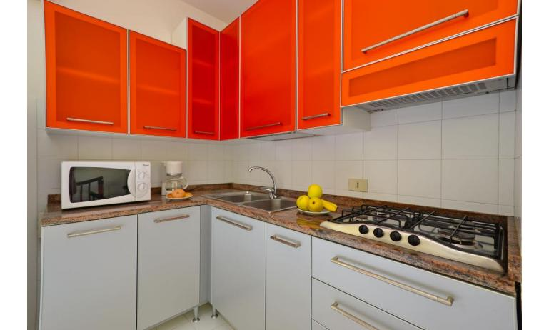 residence PARCO HEMINGWAY: B5/2 - kitchenette (example)