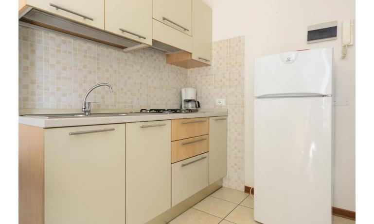 Residence RUBIN: B4 - Kochnische (Beispiel)