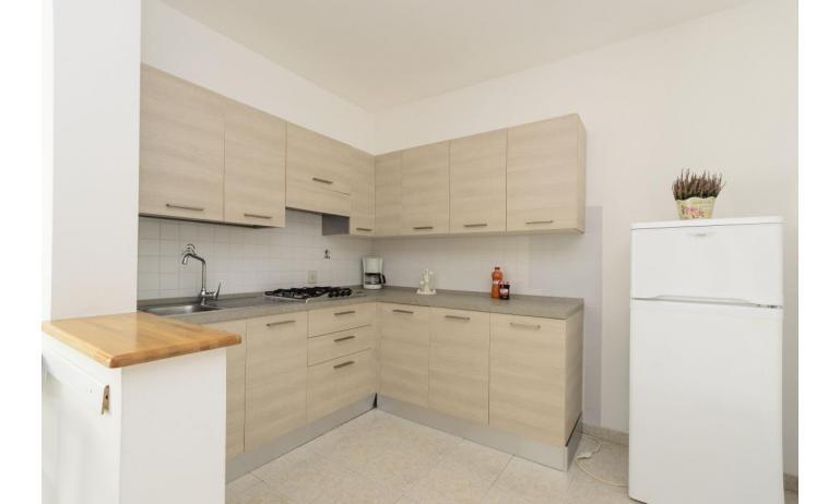 Residence RUBIN: C6 - Kochnische (Beispiel)