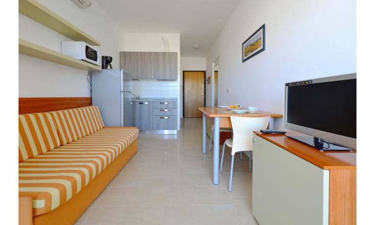 appartamenti VERDE: A2 - monovano (esempio)