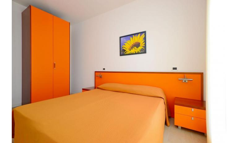 appartamenti VERDE: B3 - camera matrimoniale (esempio)