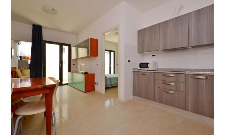appartamenti VERDE: B4 - zona giorno