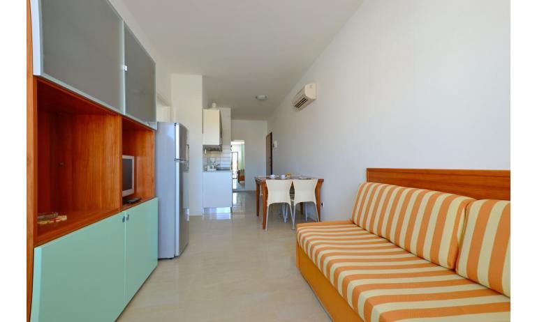 appartamenti VERDE: B4 - soggiorno (esempio)