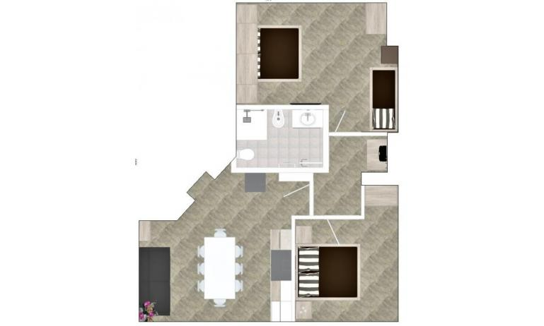 apartments NASHIRA: C7 - planimetry