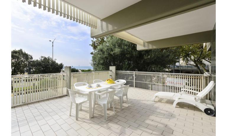 appartamenti SPIAGGIA: C5 - da balcone vista mare frontale (esempio)