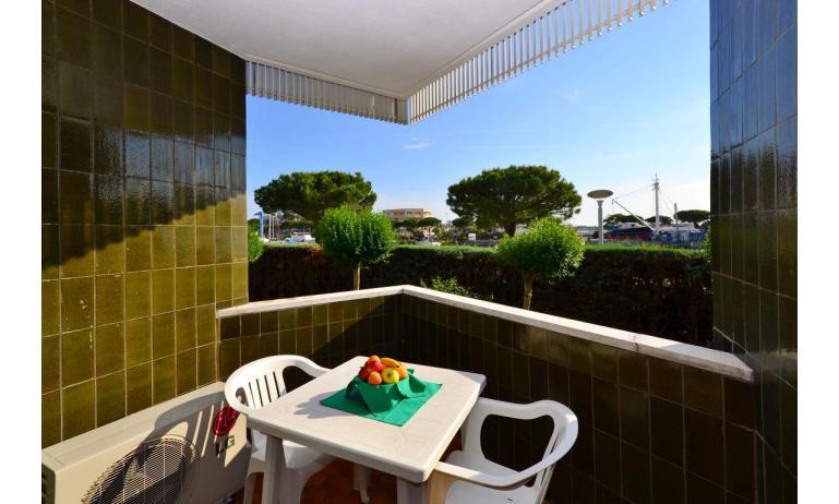 Ferienwohnungen MARINA PORTO: B4 - Balkon (Beispiel)