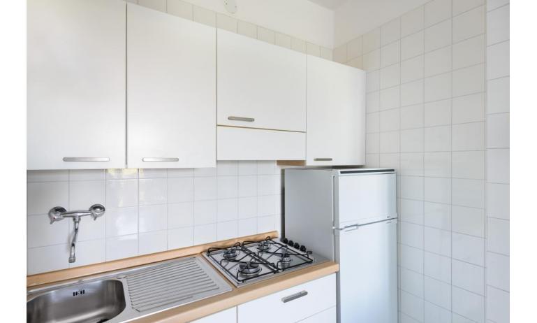 Ferienwohnungen LUNA: B5 - Kochnische (Beispiel)