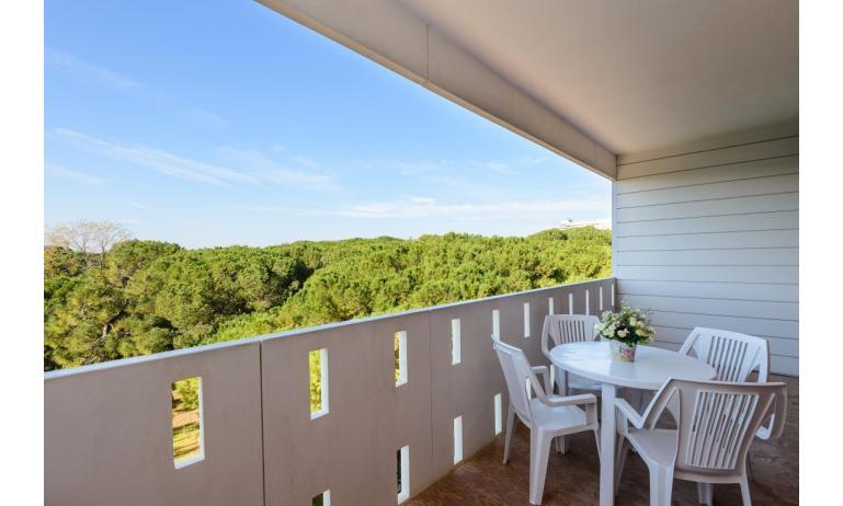 Ferienwohnungen LUNA: B5 - Balkon (Beispiel)