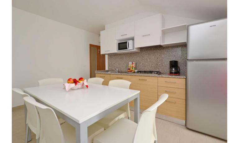 apartments FIORE: B4 - kitchenette (example)