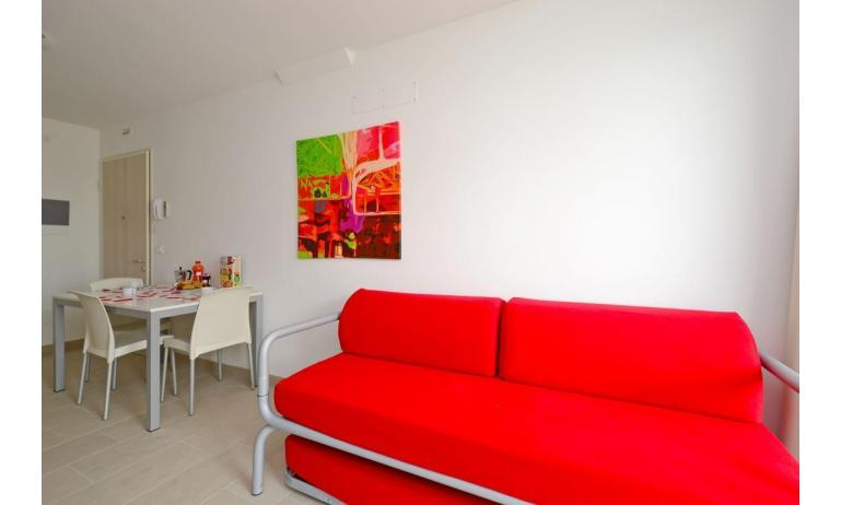 apartments FIORE: B4 - living room (example)