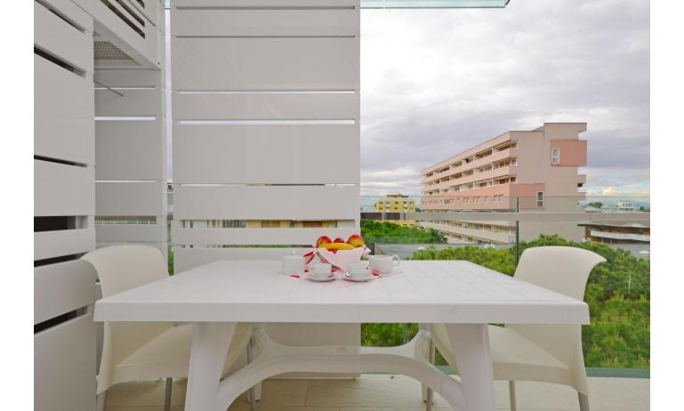 apartments FIORE: B4 - balcony with view (example)