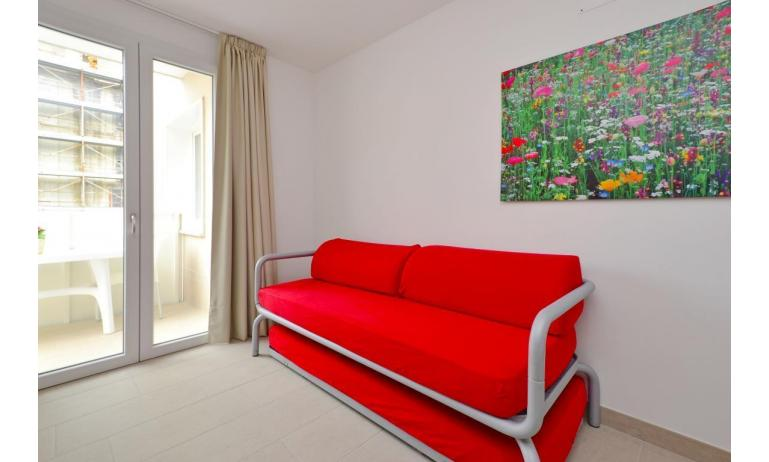 apartments FIORE: B4 - double sleeper couch ( example )