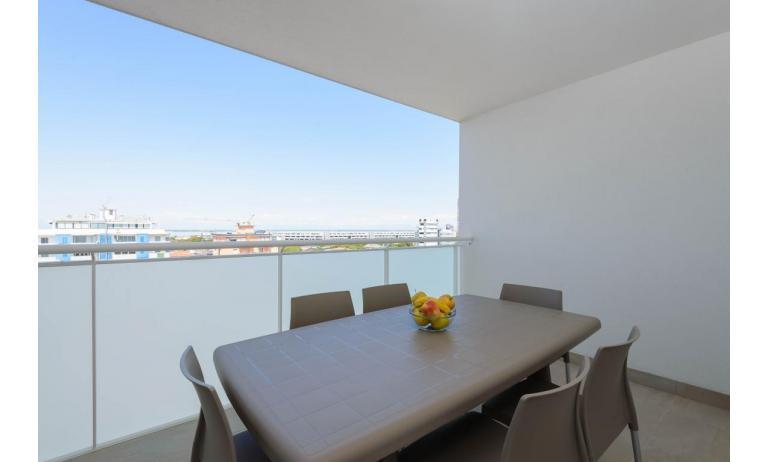 appartamenti VERDE: C6x - terrazzo attico (esempio)