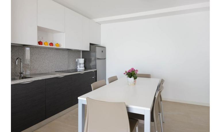 appartamenti VERDE: C6x - angolo cottura (esempio)