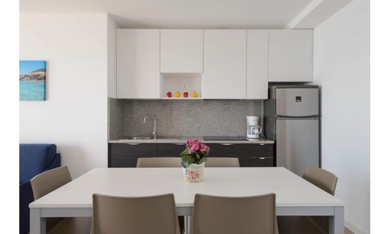 apartmanok VERDE: C6x - konyhasarok (példa)