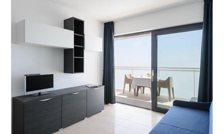 appartamenti VERDE: C6x - soggiorno (esempio)