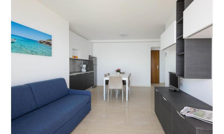 appartamenti VERDE: C6x - zona giorno